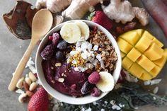 Bliss fruit smoothie bowl recipe