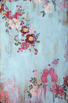 Flower Painting ©Kathe Fraga