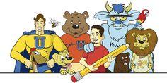 Made a new header pic for the Cartoon U website.