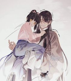 Anime Love Couple, Cute Anime Couples, Anime Art Girl, Manga Art, Cabelo Rose Gold, Character Art, Character Design, Anime Kimono, Drawn Art