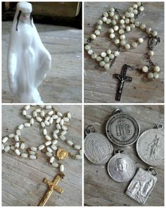 French vintage religious finds
