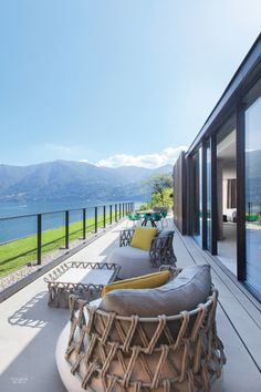 Patricia Urquiola Designs Idyllic Lake Como Hotel Il Sereno                                                                                                                                                                                 More