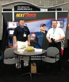 Our booth at the 2013 Mid-American Trucking Show in Louisville, KY!