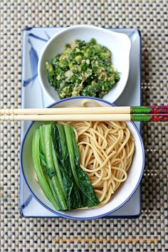momofuku ginger scallion sauce-yes, use on regular ramen noodles instead of the seasoning packet-i substitute sesame oil for the plain oil he uses-even tastier!
