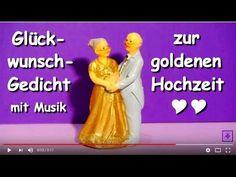 FG170 – Glückwunsch-Gedicht zur goldenen Hochzeit ❤ Herzlichen Glückwunsch zum 50. Hochzeitstag ❤ - YouTube