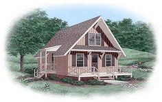House Plan 45399 | Plan with 1035 Sq. Ft., 3 Bedrooms, 2 Bathrooms