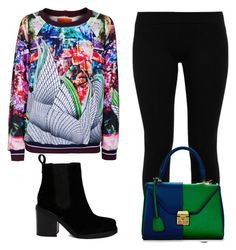 Fractals by peppermintdm on Polyvore featuring мода, Clover Canyon, LnA, ASOS and Mark Cross