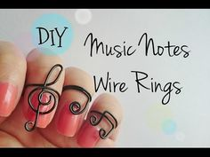 How to Make a Pair of Stylish Gold Wire Wrapped Music Note Earrings with Acrylic Beads - YouTube