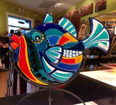 Fused Glass Fish by Karena - link no longer works