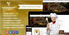 Time for Food Court is a beautifully designed HTML5 & CSS template for all you foodies. It can be used to share recipes and specially for Chefs and Cooking Experts.  Food Court template has beautiful and unique design that will be best suited for your online web presence. It has 100% responsive design and tested on all major hand held devices. #food #blog #template #html