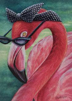 Flamingo Clip Art, Flamingo Painting, Flamingo Decor, Pink Flamingos Birds, Pink Bird, Pretty Birds, Beautiful Birds, Flamingo Pictures, Pics Art