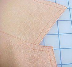 How to Edgestitch and Topstitch a Collar Lapel - Threads Magazine tutorial