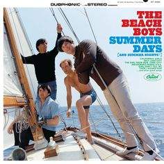 """The Beach Boys - Summer Days [And Summer Nights!!] (June 28th, 1965): The last """"fun in the sun"""" hurrah from the band before Brian Wilson's urge for musical growth and maturation. Fun album that comes with some good tunes including the famous """"California Girls"""" single."""