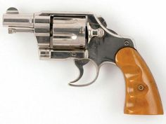 A Colt Army Special revolver is one of several guns used by Clyde Barrow during his lifetime. Bonnie Parker, Bonnie Clyde, Assault Weapon, Hunting Rifles, Guns And Ammo, Self Defense, Firearms, Shotguns, Car Ins