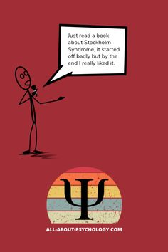 If you like psychology, you'll love All-About-Psychology.Com - a quality website which has been providing free and comprehensive information and resources for psychology students and educators since 2008. #psychology #PsychologyMajors #PsychologyStudents #PsychologyJoke Psychology Jokes, Psychology Student, Psych Major, Stockholm Syndrome, Books To Read, Students, Humor, Education, Website