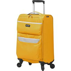 Carry-on Luggage Collections | Mia Toro Bernina Softside Spinner Carryon Yellow ** Check out the image by visiting the link. Note:It is Affiliate Link to Amazon.