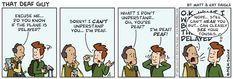 That Deaf Guy Comic Strip
