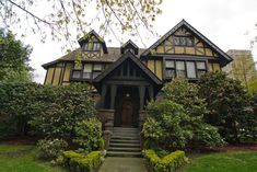 Historic Stimson Green Mansion « Vintage Seattle    A High Res: Tudor Revival Floor Plans, Old English Tudor House Plans, English Tudor House Photos