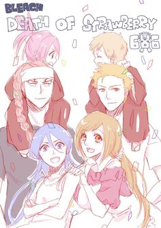 Bleach// Ichigo, Orihime, Kazui Renji, Rukia and Ichika I still cannot believe this happened!!!!