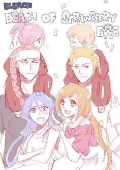 Bleach// Ichigo, Orihime, Kazui Renji, Rukia and Ichika