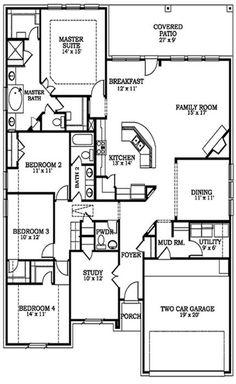 "Lennar Homes Vista Collection ""Hilltop"" Floor Plan Single Story"