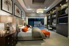Master Bedroom- wall unit