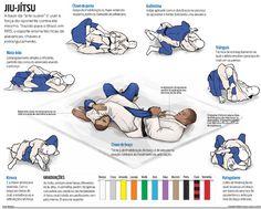 Jui - Jitsu moves.