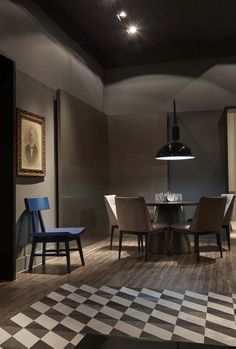 Incroyable 3 Living Spaces With Dark And Decadent Black Interiors | Study Room 書房 |  Pinterest | Living Spaces, Dark And Interiors