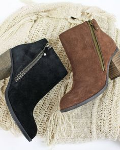 Simple but stylish flyer booties turn any outfit into an event