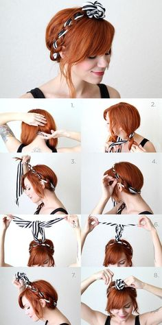 111 best Hairstyles images on Pinterest | Hairstyle tutorials ...
