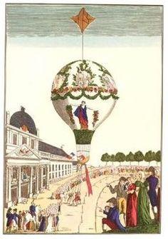 Late 18th Century Balloon.