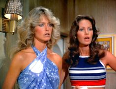 """My favorite show when I was a kid. I always had to be Kelly when we played """"Charlie's Angels :)"""