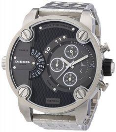 7455a76023b Relógio Diesel DZ7259 Mens SBA Multi Dial Silver Watch  Relógio  Diesel  Relógio Fossil
