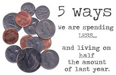 HOW TO SPEND LESS MONEY - Frugal & Cheap Ideas, Spending Less, Living on Half   CookingAtCafeD.com
