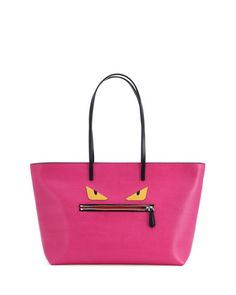 Monster Tote Bag, Pink by Fendi at Neiman Marcus.