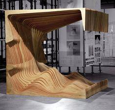 NADAAA Architects' Wood Creations