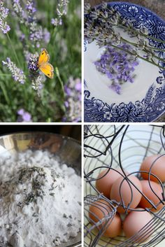 Tarte taart An: Zomerse amandel-lavendeltaart ingrediënten mooi plaatje