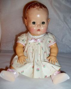 "~Vintage 11"" DY DEE Baby by Effanbee ~ Applied Ears~ #DollswithClothingAccessories"