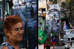 A arte de rua levantando questões no mundo JR é um artista anônimo que tem criado retratos de pessoas nos prédios das favelas em torno de Paris, nas paredes no Médio Oriente, nas pontes quebradas da África ou nas favelas do Brasil. Em sua arte ele utiliza pessoas simples que se tornam seus modelos. JR exibe livremente suas obras nas ruas do mundo, chamando a atenção de quem passa. Seu trabalho mescla de arte e ato, fala sobre o compromisso, liberdade, identidade e o limite.