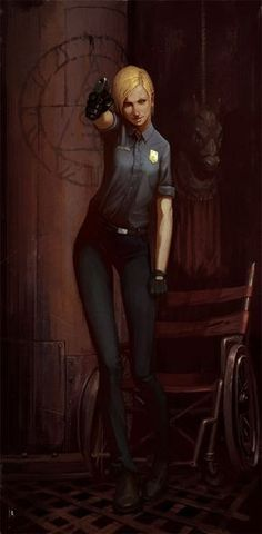 cybil by glooh on deviantART (silent hill) Silent Hill 2, Silent Hill Video Game, Star Trek Enterprise, Star Trek Voyager, Toluca Lake, Horror Themes, Poses, Anime, Resident Evil