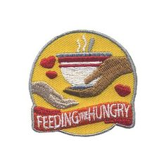 Feeding the Hungry Patch. Our Feeding the Hungry patch shows how much your Girl Scouts love helping others. Available at MakingFriends®.com