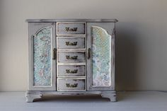 Paris Gray French Style Jewelry Box