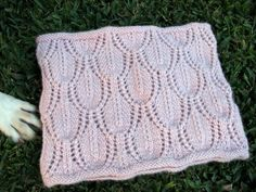 Free Knitting Pattern - Cowls and Neck Warmers: Windshield Loose Lacy Neckwarmer