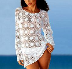 Crochet TUNIC PDF Pattern von Crochet0Patterns auf Etsy