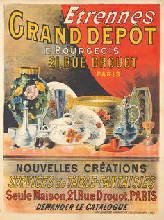 Grand Dépôt - E. Bourgeois, Paris - Etrennes - 1905 -