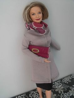 Custom Fashion for Happy Family Grandma Barbie Doll by