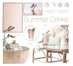 """""""Summer Drinks!"""" by kearalachelle ❤ liked on Polyvore featuring interior, interiors, interior design, home, home decor, interior decorating, Hogan, Pottery Barn, Margarita and CB2"""
