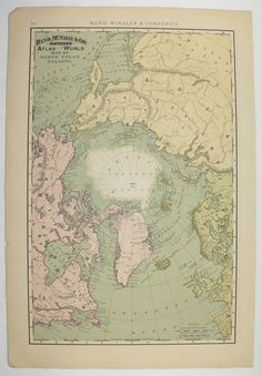 1871 hemisphere map vintage world map northern hemisphere southern antique north pole map vintage arctic ocean polar regions original old 1896 world eastern hemisphere map gifts under 50 cyber monday sale by gumiabroncs Images