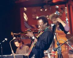 Jazz composer, band leader and trumpeter Miles Davis (1926-1991) is one of the essential luminaries of American music. As a performer, Davis had an innovative and nuanced approach to his instrument, while as a composer and band leader, he showed a brilliant mind for melodic structure and dynamics. Recordings of his music still brim with creative energy.