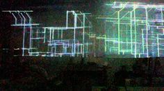 Linienmeer video Neon Signs, Songs, World, Videos, Light Installation, Short Throw Projector, The World, Song Books